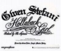 Cover Gwen Stefani - Hollaback Girl
