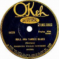 Cover Hambone Willie Newbern - Roll And Tumble Blues