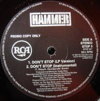 Cover Hammer - Don't Stop