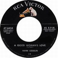 Cover Hank Locklin - A Good Woman's Love