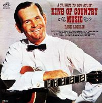 Cover Hank Locklin - A Tribute To Roy Acuff King Of Country Music