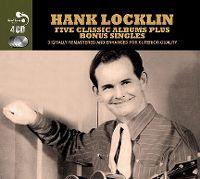 Cover Hank Locklin - Five Classic Albums Plus Bonus Singles