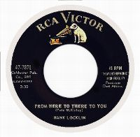 Cover Hank Locklin - From Here To There To You