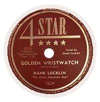 Cover Hank Locklin - Golden Wristwatch