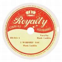 Cover Hank Locklin - I Worship You