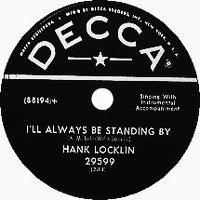 Cover Hank Locklin - I'll Always Be Standing By