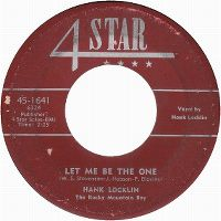 Cover Hank Locklin - Let Me Be The One