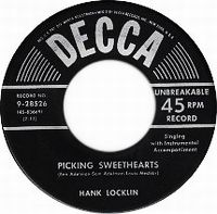 Cover Hank Locklin - Picking Sweethearts