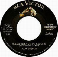 Cover Hank Locklin - Please Help Me, I'm Falling