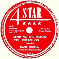 Cover Hank Locklin - Send Me The Pillow You Dream On