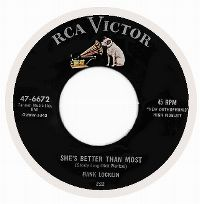 Cover Hank Locklin - She's Better Than Most