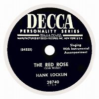 Cover Hank Locklin - The Red Rose