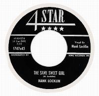 Cover Hank Locklin - The Same Sweet Girl