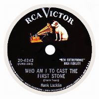 Cover Hank Locklin - Who Am I To Cast The First Stone