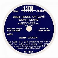 Cover Hank Locklin - Your House Of Love Won't Stand