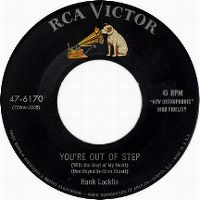 Cover Hank Locklin - You're Out Of Step (With The Beat Of My Heart)
