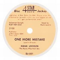 Cover Hank Locklin And His Rocky Mountain Boys - One More Mistake