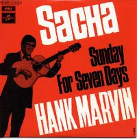 Cover Hank Marvin - Sacha