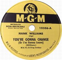 Cover Hank Williams - You're Gonna Change (Or I'm Gonna Leave)