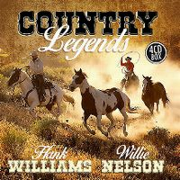 Cover Hank Williams / Willie Nelson - Country Legends