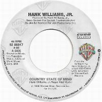 Cover Hank Williams Jr. - Country State Of Mind
