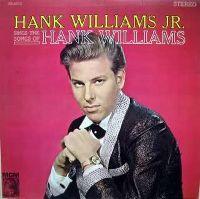 Cover Hank Williams Jr. - Hank Williams Jr. Sings The Songs Of Hank Williams