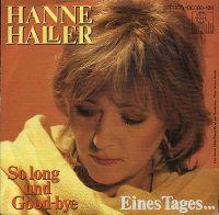 Cover Hanne Haller - So long und Good-bye