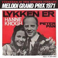 Cover Hanne Krogh - Lykken er