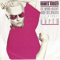 Cover Hannes Kröger - Es wird Nacht auf St. Pauli