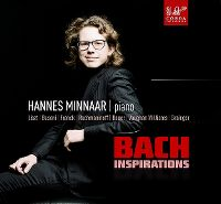 Cover Hannes Minnaar - Bach Inspirations