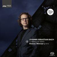 Cover Hannes Minnaar - Johann Sebastian Bach: Goldberg Variations