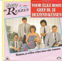 Cover Hanny en de Rekels - Voor elke roos geef ik je duizend kussen