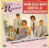 Cover Hanny en de Rekels - Voor elke roos