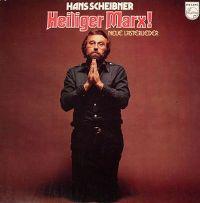 Cover Hans Scheibner - Heiliger Marx! - Neue Lästerlieder