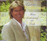 Cover Hansi Hinterseer - Mein Liebesbrief an dich