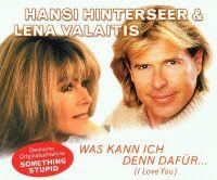 Cover Hansi Hinterseer & Lena Valaitis - Was kann ich denn dafür (I Love You)