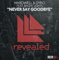 Cover Hardwell & Dyro feat. Bright Lights - Never Say Goodbye