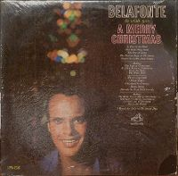 Cover Harry Belafonte - To Wish You A Merry Christmas