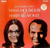 Cover Harry Belafonte and Nana Mouskouri - An Evening With Belafonte / Mouskouri
