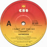Cover Haywoode - I Can't Let You Go