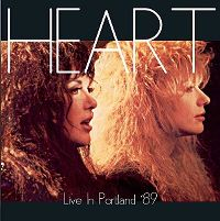 Cover Heart - Live In Portland '89