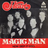 Cover Heart - Magic Man
