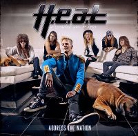 Cover H.E.A.T - Address The Nation