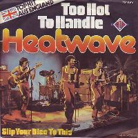 Cover Heatwave - Too Hot To Handle