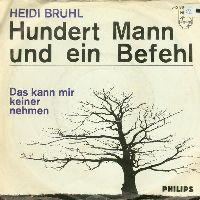 Cover Heidi Brühl - Hundert Mann und ein Befehl