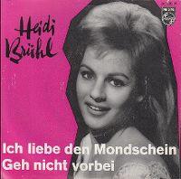 Cover Heidi Brühl - Ich liebe den Mondschein