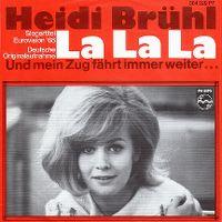 Cover Heidi Brühl - La, La, La
