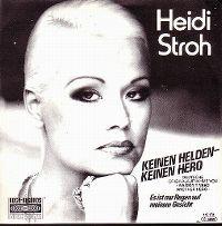 Cover Heidi Stroh - Keinen Helden keinen Hero