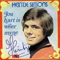 Cover Heintje Simons - Jou hart is weer myne
