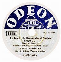 Cover Heinz Rühmann - Ich brech' die Herzen der stolzesten Frau'n